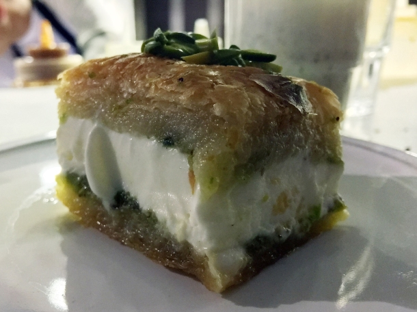 baklava ice cream sandwich at berenjak