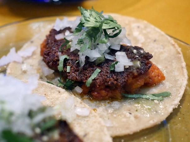 choripapa tacos at casa pastor