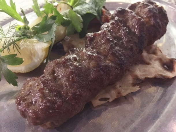 goat kebab at berenjak