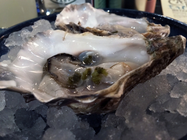 pickled jalapeno oysters at casa pastor