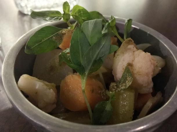 pickled vegetables at berenjak