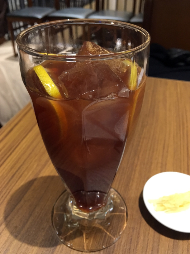 earl grey lemon iced tea at din tai fung covent garden