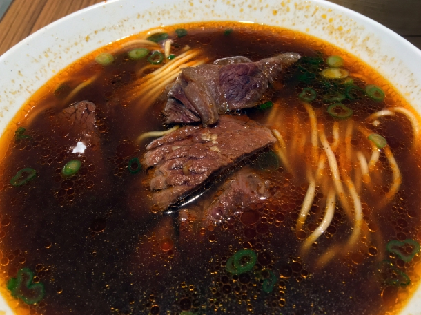 taiwanese beef noodle soup at din tai fung covent garden