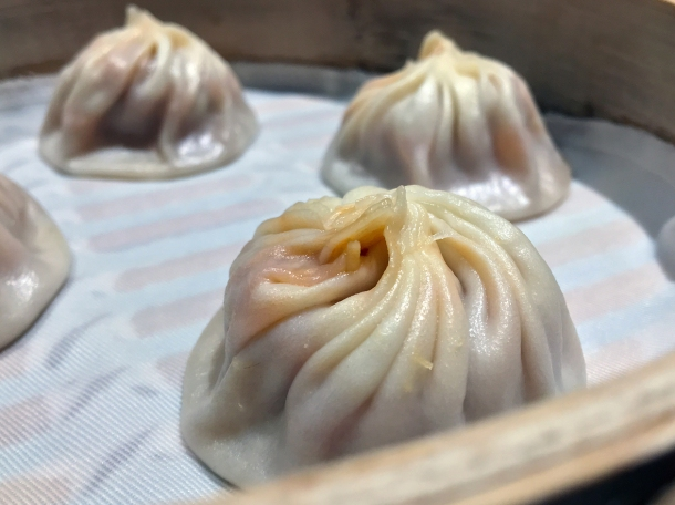 chilli crab and pork soup dumplings at din tai fung covent garden