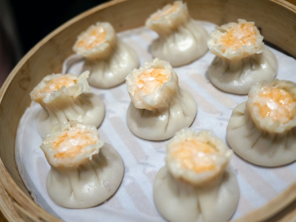 pork and prawn siu mai at din tai fung covent garden
