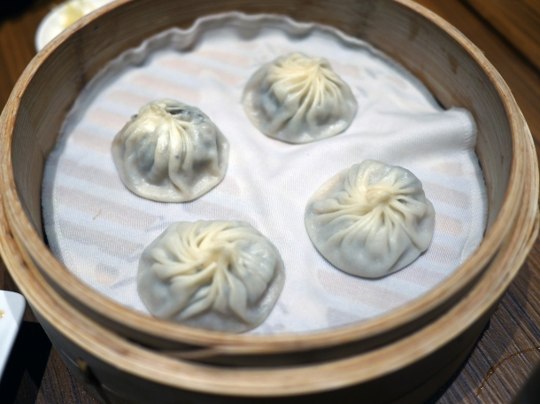 pork and truffle xiaolongbao at din tai fung covent garden