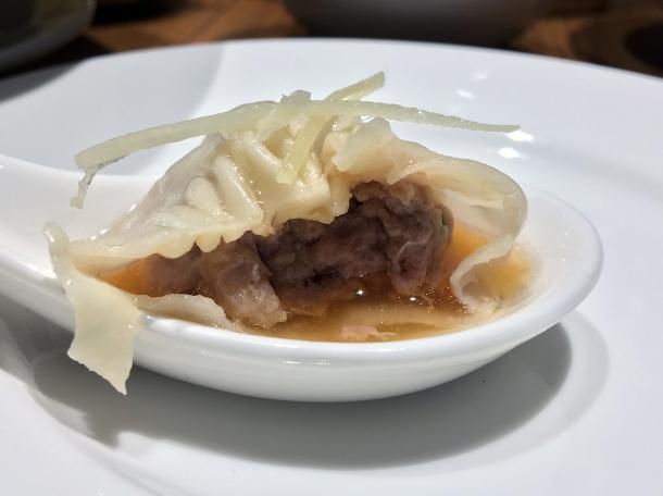 pork soup dumplings at din tai fung covent garden