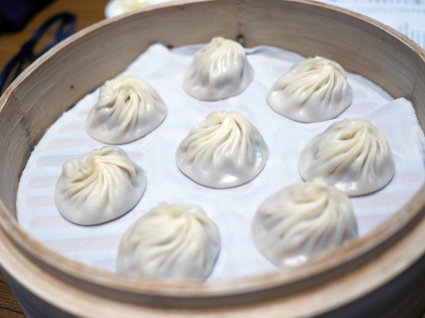 pork xiaolongbao at din tai fung covent garden