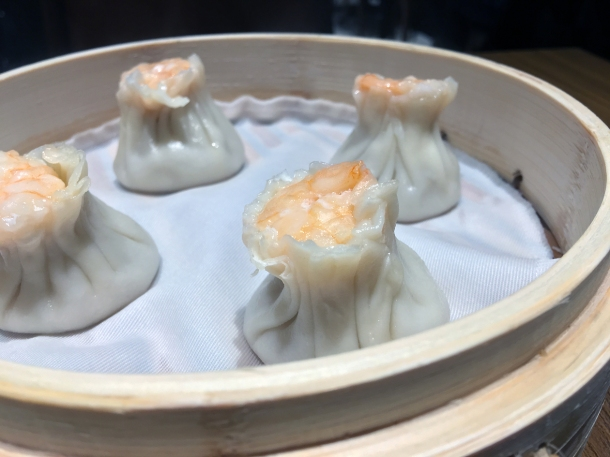 prawn and pork siu mai dumplings at din tai fung covent garden