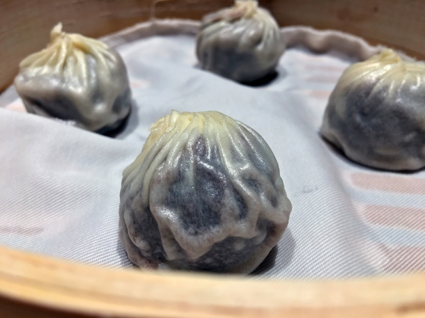 red bean and chocolate dessert dumplings at din tai fung covent garden
