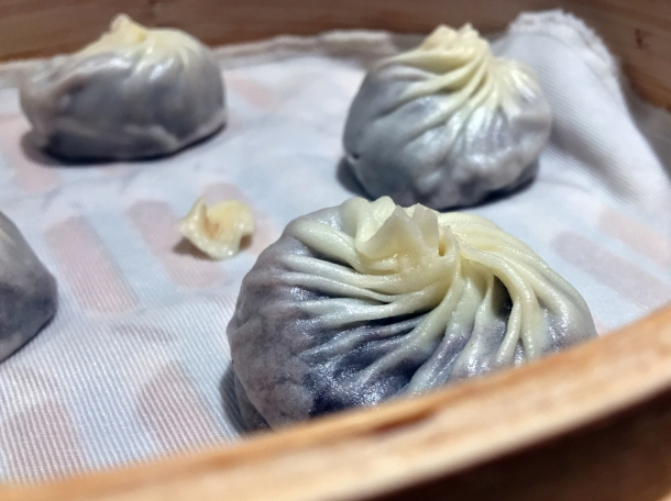 red bean and chocolate dessert dumplings at din tai fung henrietta street