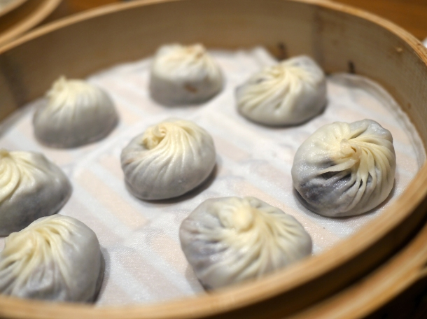 red bean and chocolate xiaolongbao at din tai fung covent garden