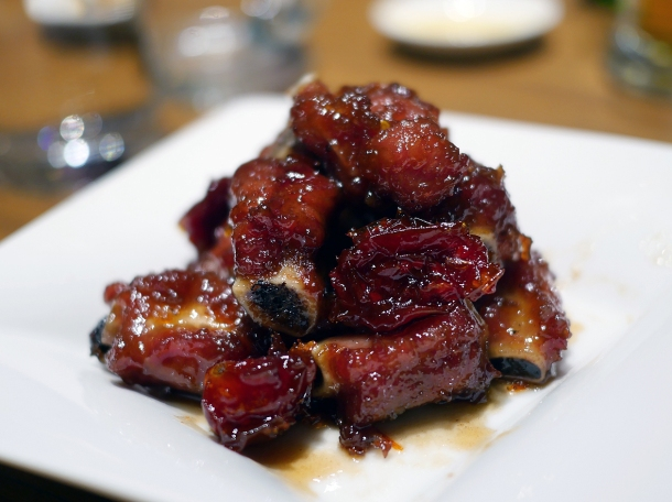 spare ribs at din tai fung covent garden
