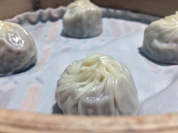 sweet taro dessert dumplings at din tai fung henrietta street