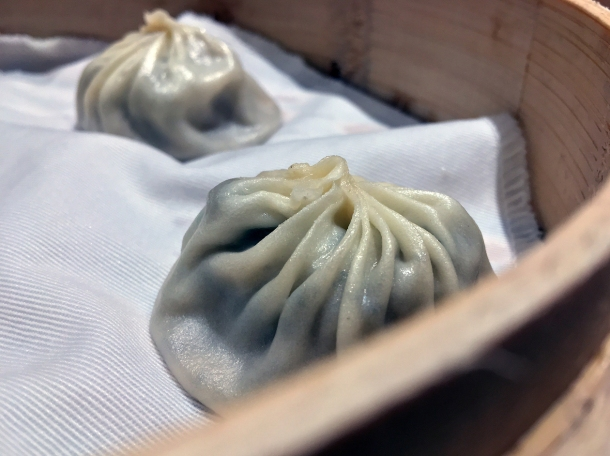 truffle pork soup dumplings at din tai fung covent garden