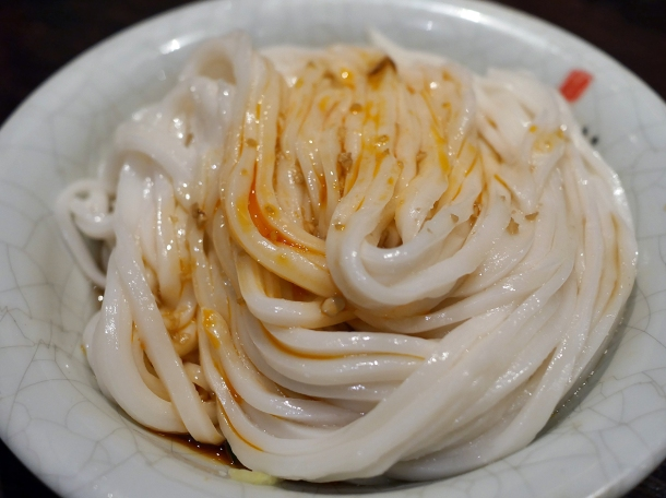 cold rice noodles at Murger Hanhan