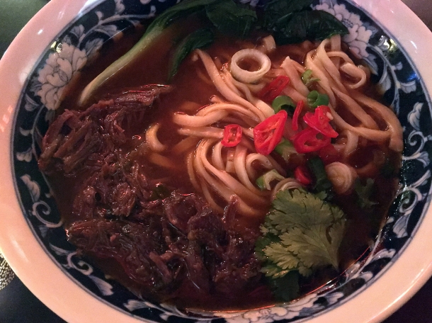 taiwanese beef noodle soup at bao and bing