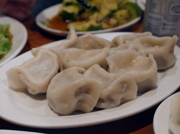 illustrative photo of the lamb and onion dumplings at Silk Road Camberwell