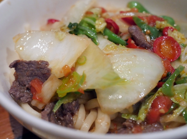 illustrative photo of the special lamb noodle at Silk Road Camberwell