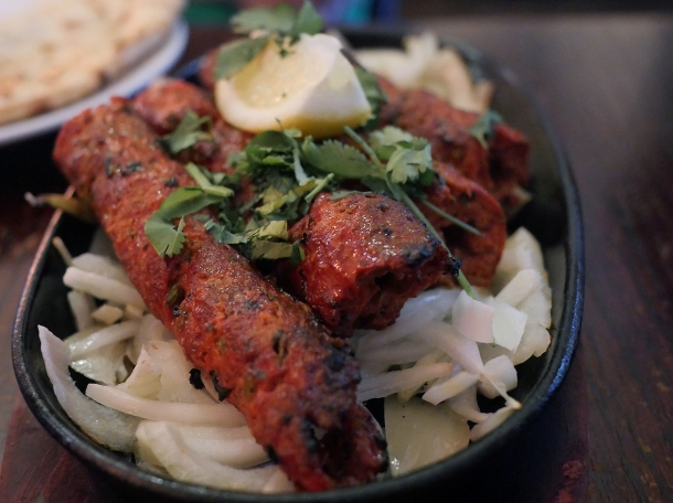 illustrative photo of the seekh kebabs at African Queen