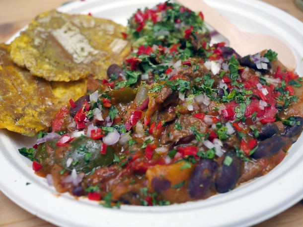 illustrative photo of the chilli con carne from La Cumbia at Mercato Metropolitano
