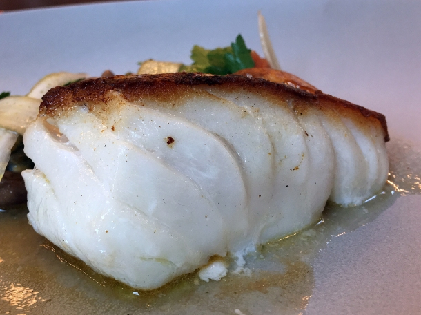 illustrative photo of the cod at Wild Honey St James