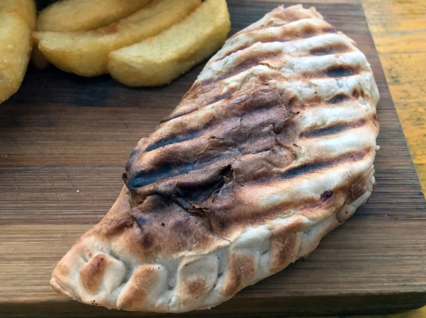 illustrative photo of the empanada from Argentine Grill at Mercato Metropolitano
