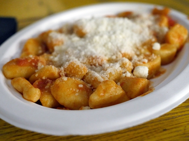 illustrative photo of the gnocchi from Pala and Matterello at Mercato Metropolitano