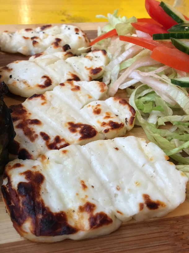 illustrative photo of the halloumi from Lebanese Canteen at Mercato Metropolitano