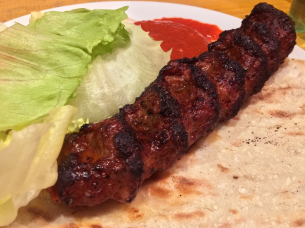 illustrative photo of the kofte kebab from Turkish Garden at Mercato Metropolitano