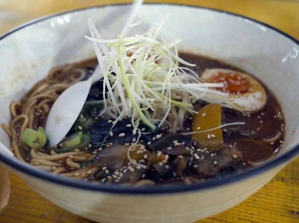illustrative photo of the miso ramen from Juzu at Mercato Metropolitano