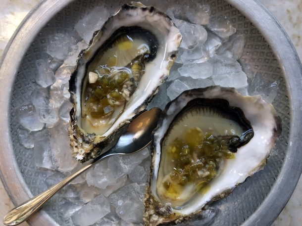 illustrative photo of the oysters at Flor