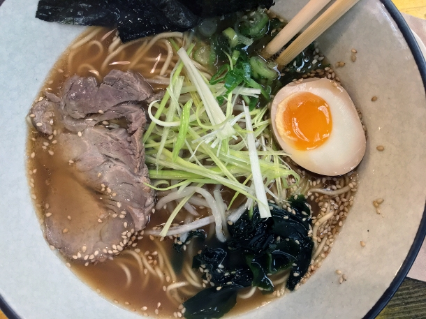 illustrative photo of the shoyu ramen from Juzu at Mercato Metropolitano