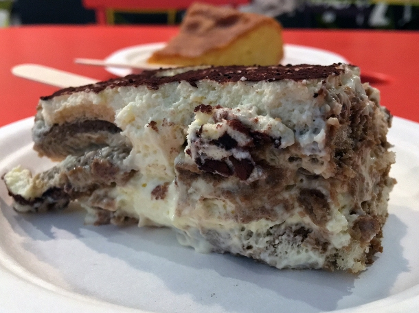 illustrative photo of the Tiramisu from Caffe Latino at Mercato Metropolitano.