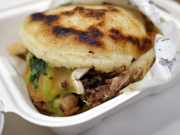 illustrative photo of the Two Little Pigs arepas from Guasacaca at Mercato Metropolitano
