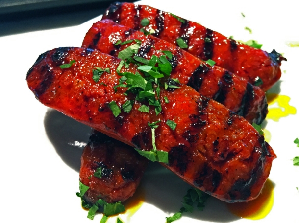 illustrative photo of the chorizo from Casa do Frango at Arcade Food Theatre