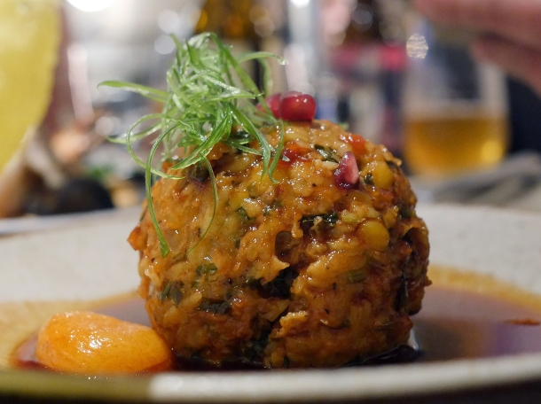 illustrative photo of the kofta at Nutshell Covent Garden