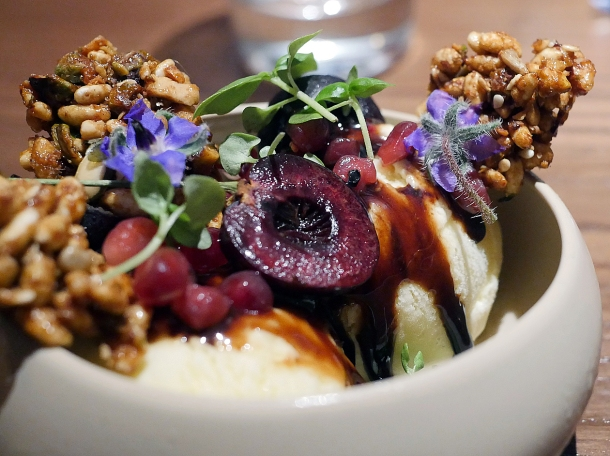 illustrative photo of the Persian sundae at Nutshell Covent Garden