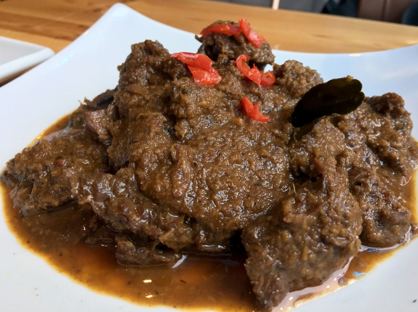 illustrative photo of the beef rendang at Wau