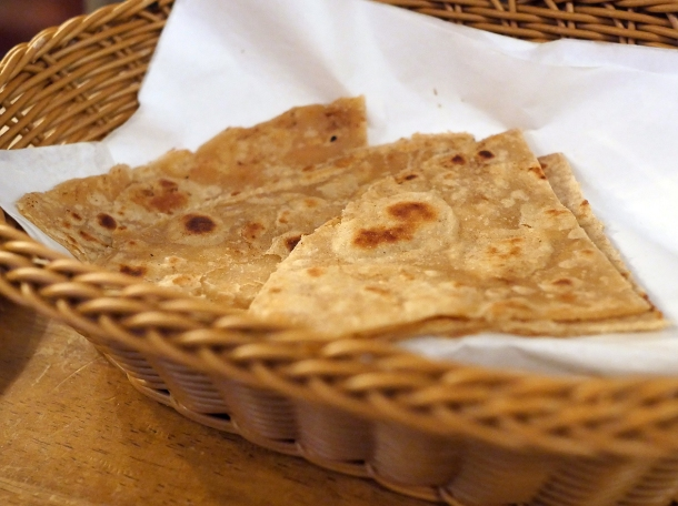 illustrative photo of the chapati and roti at Danfe