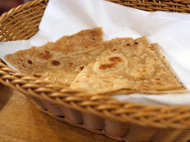 illustrative photo of the chapati and roti at Danfe