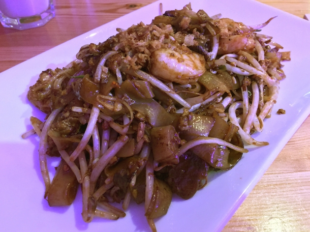illustrative photo of the char kway teow at Wau