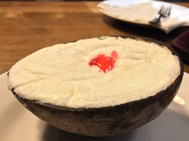illustrative photo of the coconut ice cream at Danfe