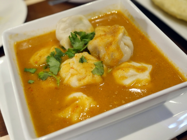 illustrative photo of the jhol momos at Maya DD's