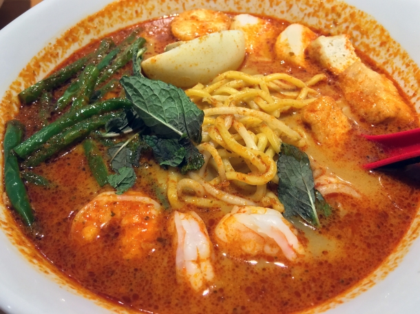 illustrative photo of the laksa at Wau