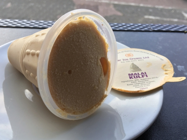 illustrative photo of the malai kulfi at Danfe
