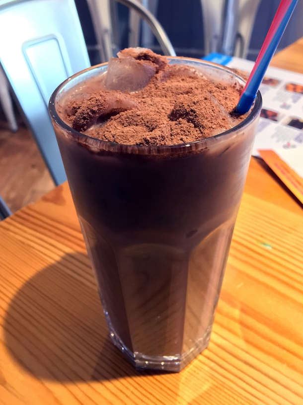 illustrative photo of the iced milo at Wau