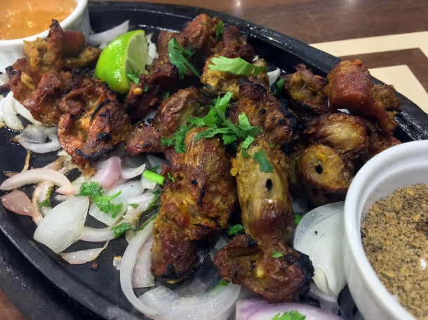 illustrative photo of the pangra fry at Maya DD's