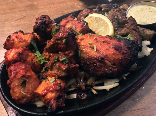 illustrative photo of the tandoori mixed grill at Danfe