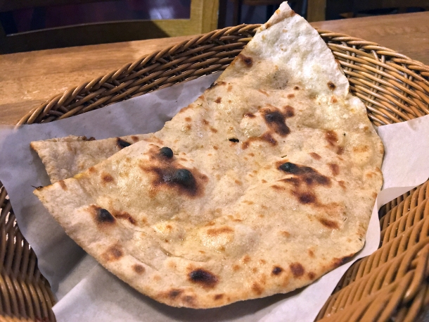 illustrative photo of the tandoori roti at Danfe